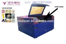 High accuracy laser cutting machine cut garment wool leather