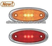 3.9''Oval LED Marker Light with Reflex Lens