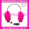 nuevos auriculares de felpa manguito del oído protectores