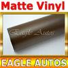 Brown Matte VINYL FILM CAR WRAP SHEET STICKER For Car / Van / furniture Size: 98 ft x 4.9 ft wholesale China