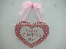 GOOD SALE 3 Asst. Valentine Decoration Red Heart Wall Plaque