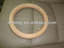 big wood circle, wood ring in large size, hardwood crafts