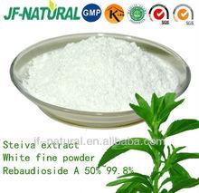 Stevia extract Rebaudioside A 97% 98% 99% 99.8%