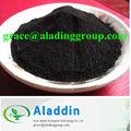 Pigment naturel noir de carbone légumes. noir de carbone