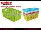 Plastic Storage Basket Mould/ molde cesta de plastico/molde cesto de plastico