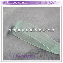 "3/8"" Width Dress Decorative Light Green Organza Mesh Ribbon"