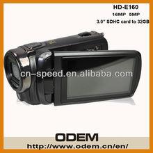 Wholesale Full HD 1080p 16Mega pixels professional cam corder Digital Video Camera HD-160