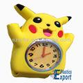 Design urso bonito relógio, assistir tapa silicone para as crianças