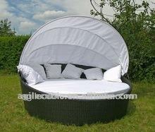 10177 Contemporary Outdoor Patio Sun Bed