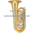 4 Frontal Cupronickel Tuning Pipe Tuba
