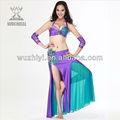 มืออาชีพท้องเต้นรำอินเดียเครื่องแต่งกาย, เสื้อผ้าเต้นรำท้อง( qc2066)