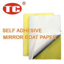 Self Adhesive Mirror Coat Sticker Paper
