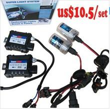 Hot sale!!! h4/H1/H3/H7/H11/9005/9006 bulbs car hid xenon kit hid 35w/55w/75w/100w
