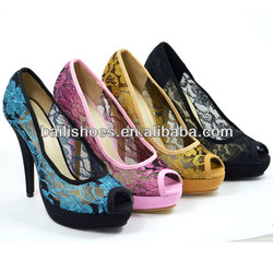 2013 new design fashion lady dress shoes open-toe high heel lady shoes