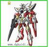Popular plastic gundam action figure toy