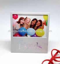 Sorte alumínio moldura de imagem para amigos e família