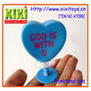 6Cm Cheap Plastic Toys Jumping Heart Gift Kids Jumping Toys