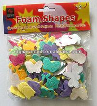 Self-adhesion EVA Foam Shapes 100pcs/bag