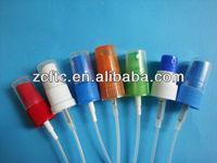 Plastic fine mist spray pump, perfume atomiser,gel sprayer