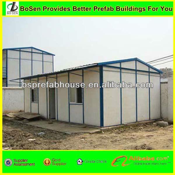 Prefabricated Philippines modular steel frame house