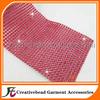 outdoor red plastic ribbon, plastic cake banding, diamante cake wrap