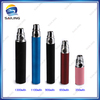 High Quality Sailing Ego T Battery 350,650,900,1100,1300mah ego battery for E-cig