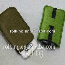 Good quality wool felt mobile Phone cases