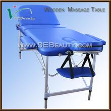 popular folding aluminum massage table,salon furniture