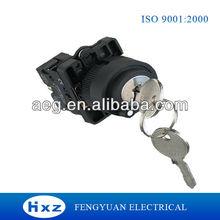 Lock Push Button, XB2 series Push Button Switch With Key XB2-EG33