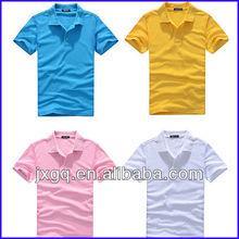 Wholesale fashion design 95% cotton 5% spandex polo shirt manufacturer bulk man polo t-shirt