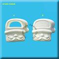 bisque de cerâmica santa ornamento do saco