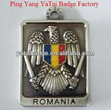 Metal tag for Romania Dog tag metal medal 3D medal