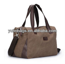 2012 canvas Leisure shoulder aslant portable fashion handbag