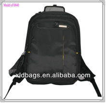 eminent black nylon backpack laptop bag with good price