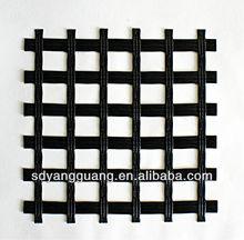 low elongation fiberglass geogrid