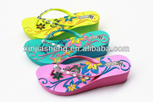 2014 Design Latest EVA Girl Stylish Footwear slippers