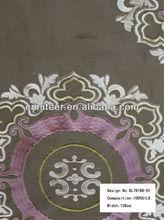 Silk linen Embroidery