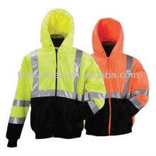 2014 innovative design high visibility fluorescent custom hoodies