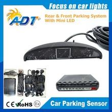 Vehicle Parking Sensors Car Parking Reverse Backup Radar 8 Sensors With Display