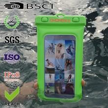waterproof pvc cellphone case packaging