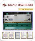 JUGAO QC11K-60X3200 metal sheet hydraulic shearing guillotine type machine