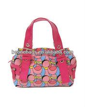the lady bag, fashion handbag, canvas bag