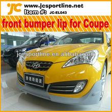 PU 2010 UP front bumper lip front lip for Coupe Hyundai car parts