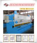 Metal sheet QC12K-55X7000 Power Hydraulic guillotine shearing machine