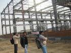prefabricated building L10000mxW10000mxH35m