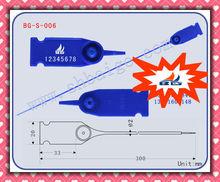 plastic tags BG-S-006, plastic security seals