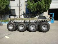 Jiangdong 8x8 amphibioius electric utility vehicle