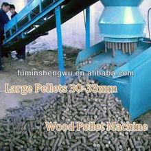 Biomass briquetting machine 33mm briquette