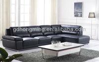 2015 living room furniture cheap l shape leather pu sofa sets J827