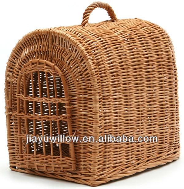 Handmade Wicker Dog Basket : Handmade wicker cat or dog basket